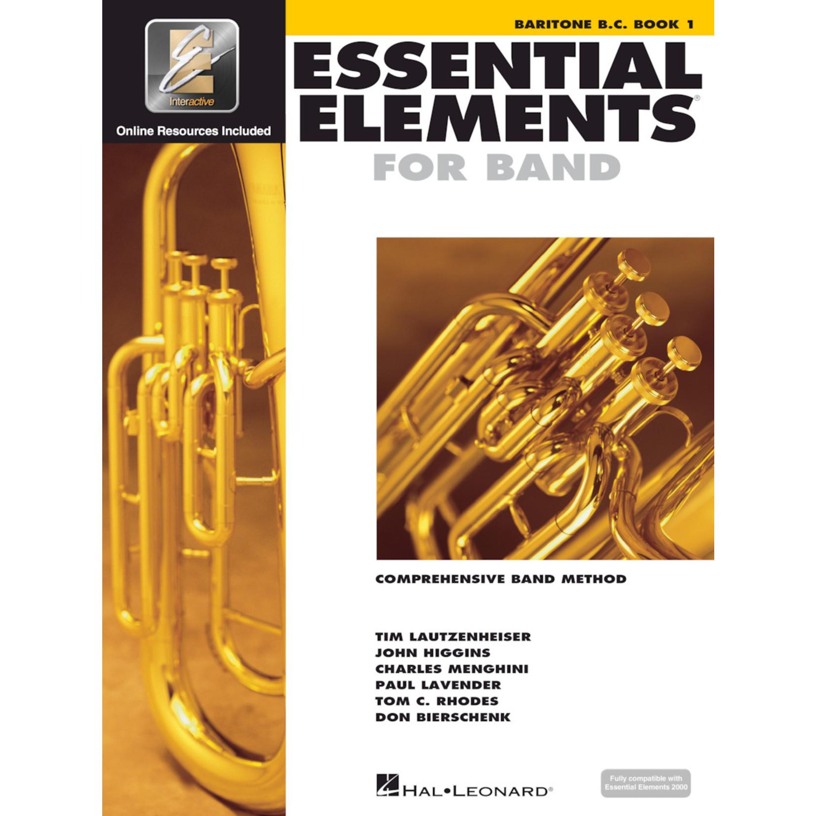 Hal Leonard Essential Elements for Band Baritone Bass Clef Book 1