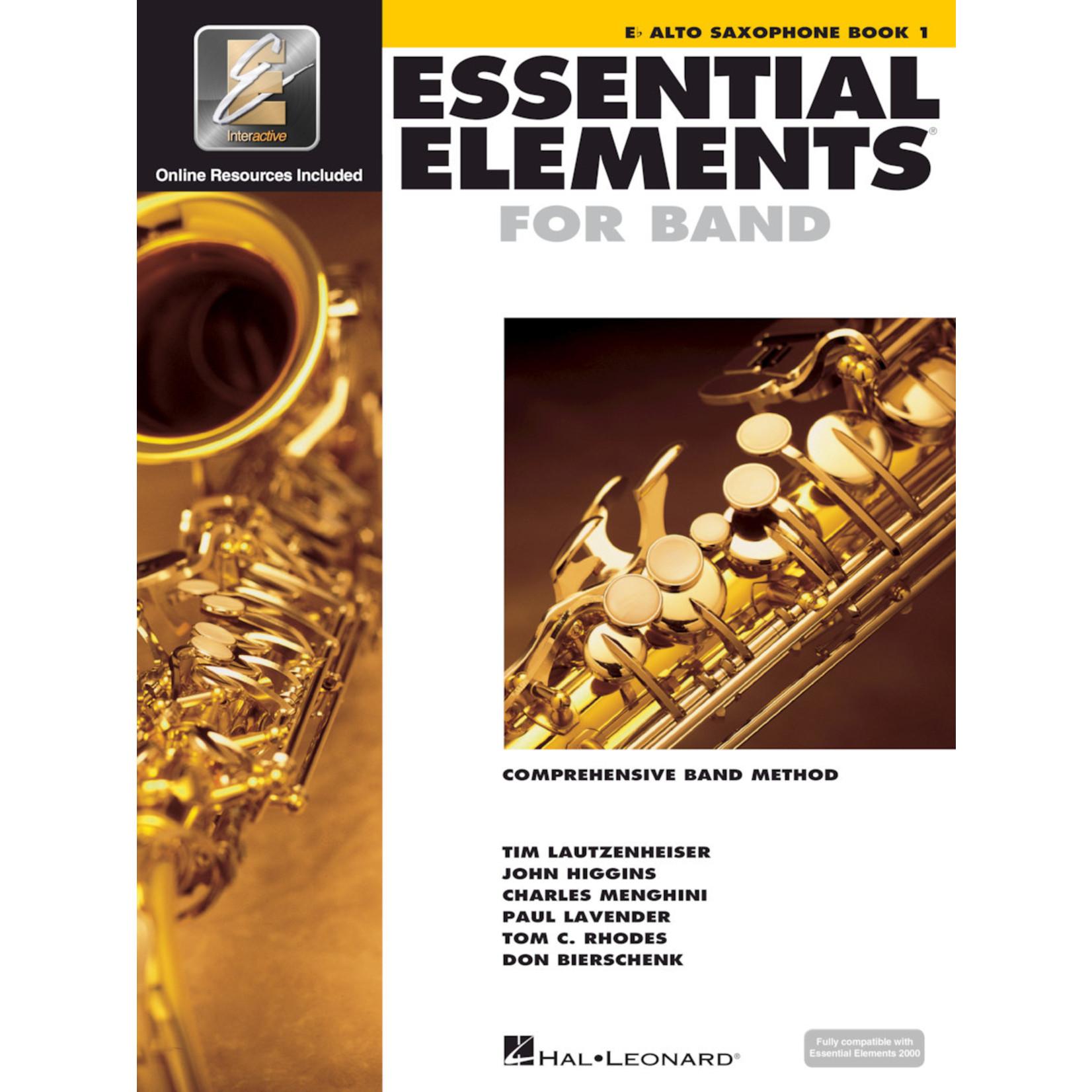 Hal Leonard Essential Elements for Band Alto Saxophone Book 1