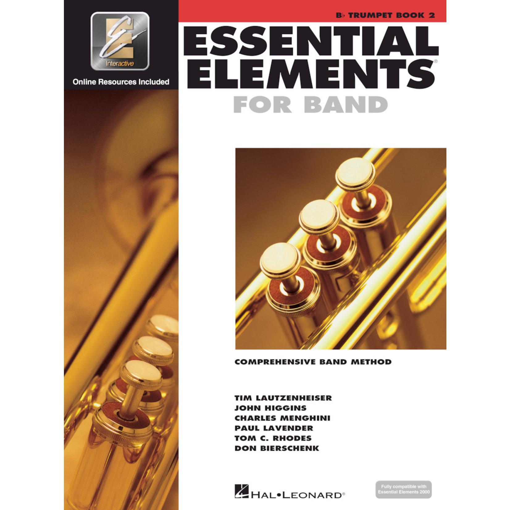 Hal Leonard Essential Elements for Band Trumpet Book 2