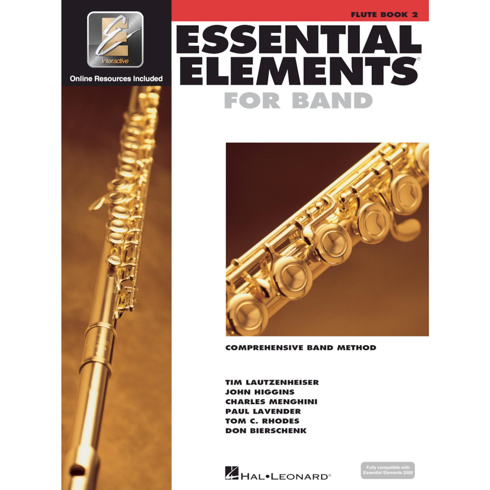 Hal Leonard Essential Elements for Band Flute Book 2