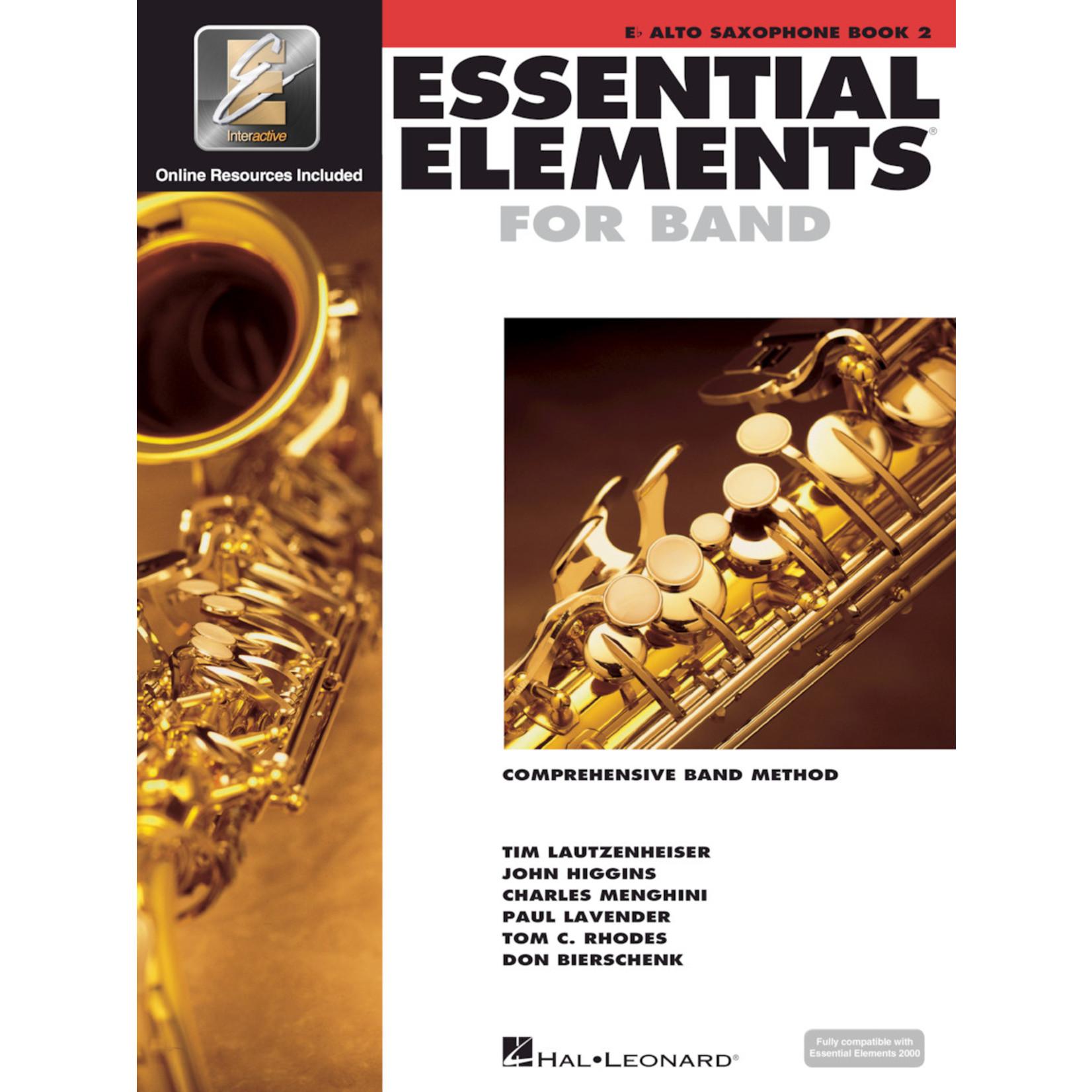 Hal Leonard Essential Elements for Band Alto Saxophone Book 2