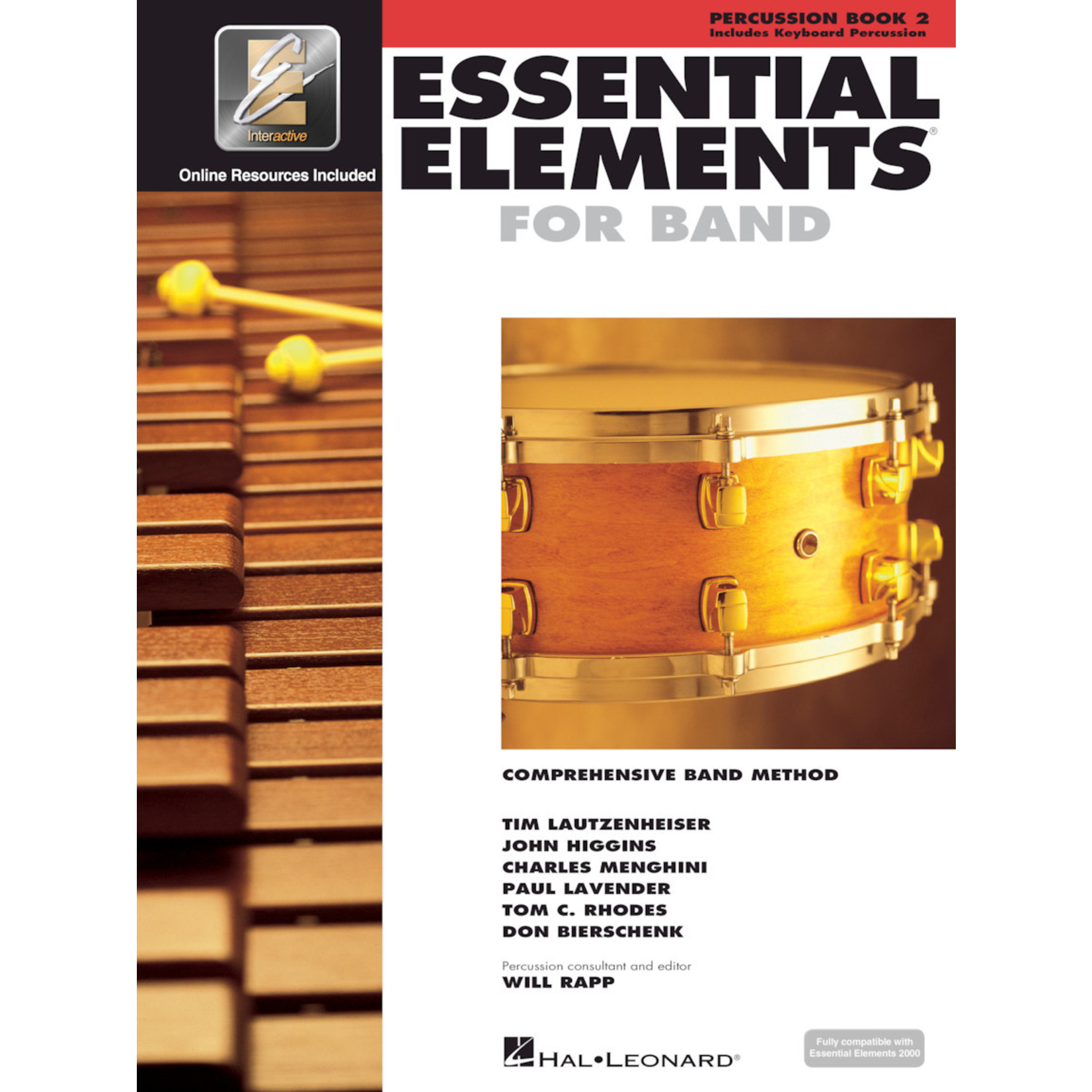 Hal Leonard Essential Elements for Band Percussion Book 2