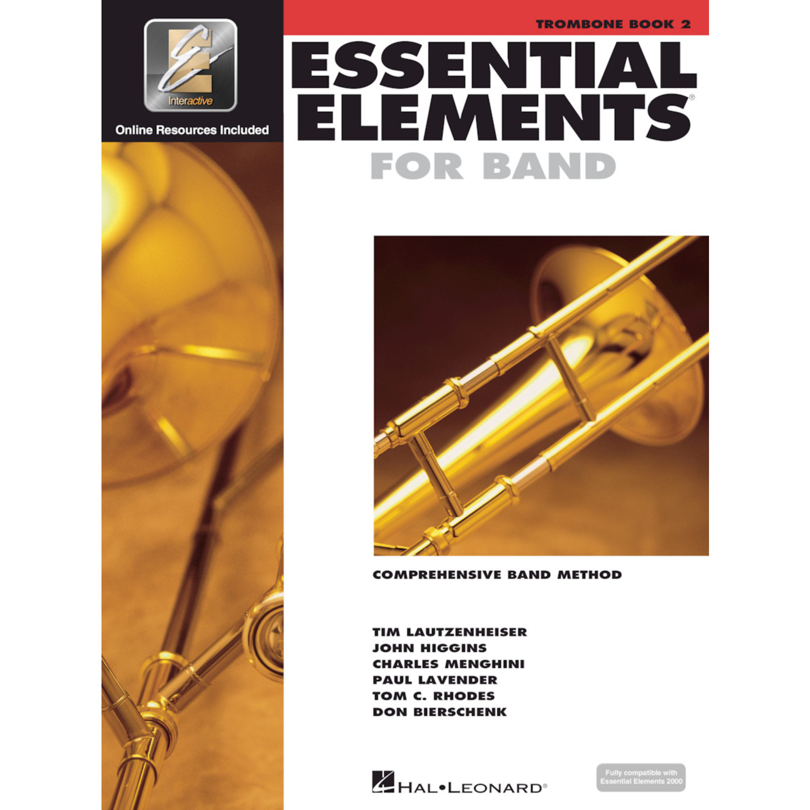 Hal Leonard Essential Elements for Band Trombone Book 2