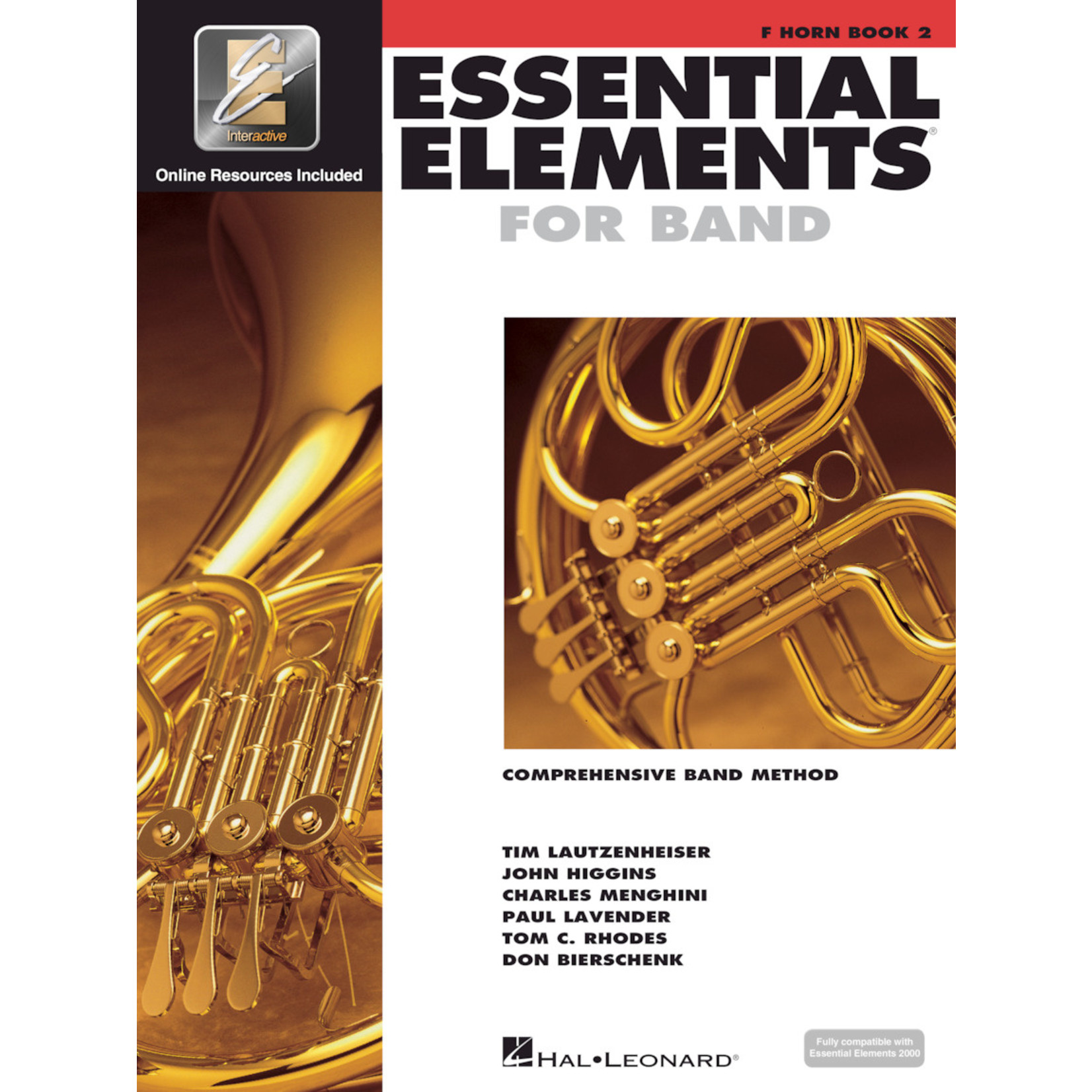 Hal Leonard Essential Elements for Band French Horn Book 2