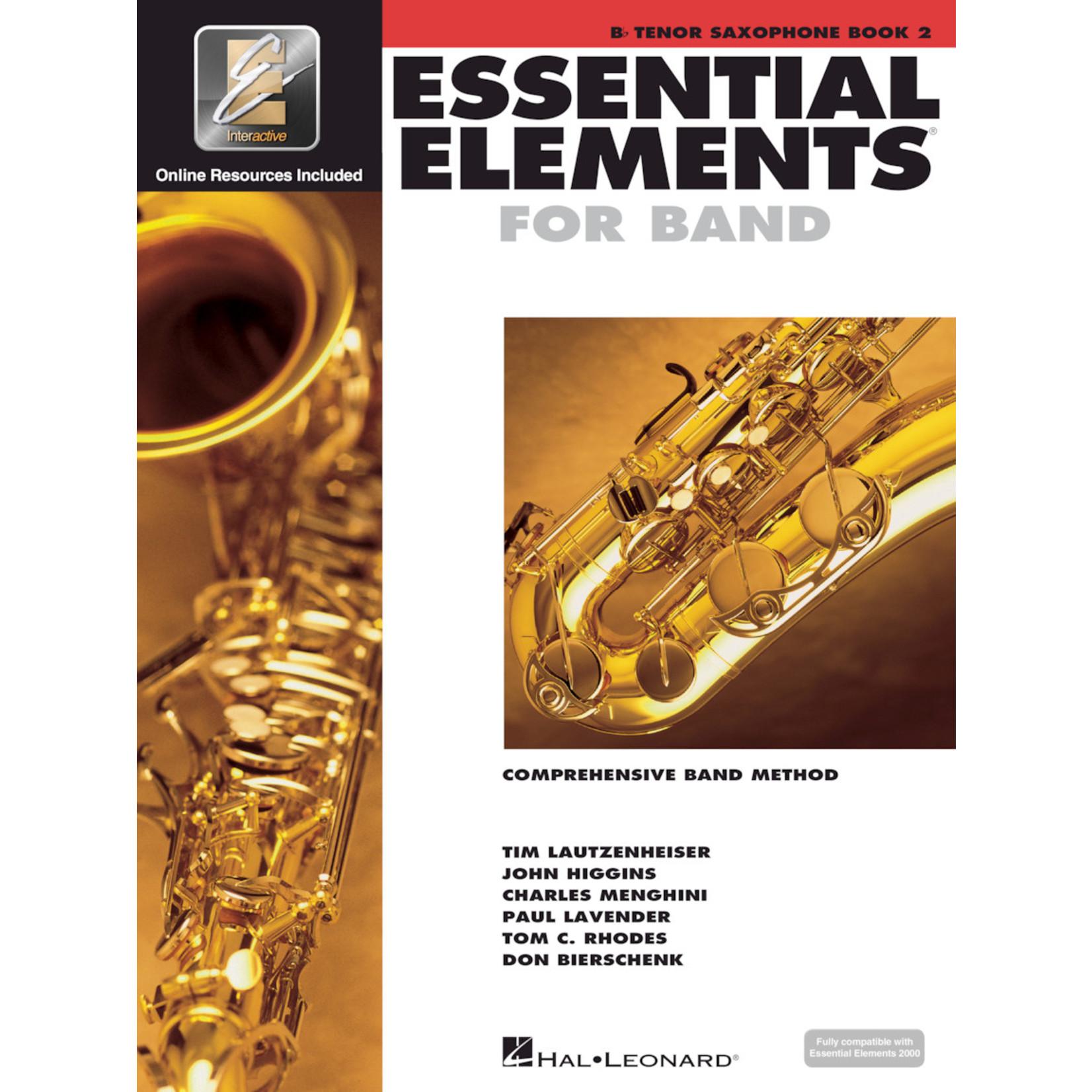 Hal Leonard Essential Elements for Band Tenor Saxophone Book 2