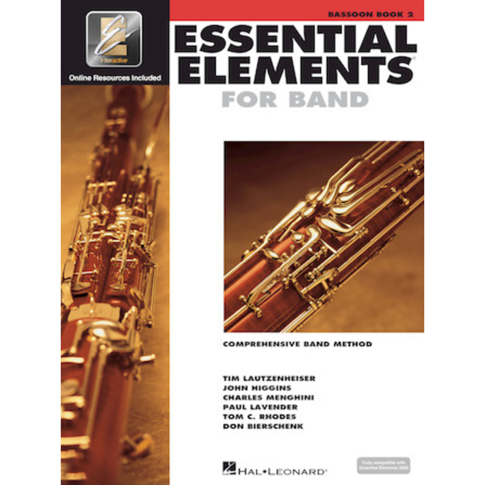 Hal Leonard Essential Elements for Band Bassoon Book 2