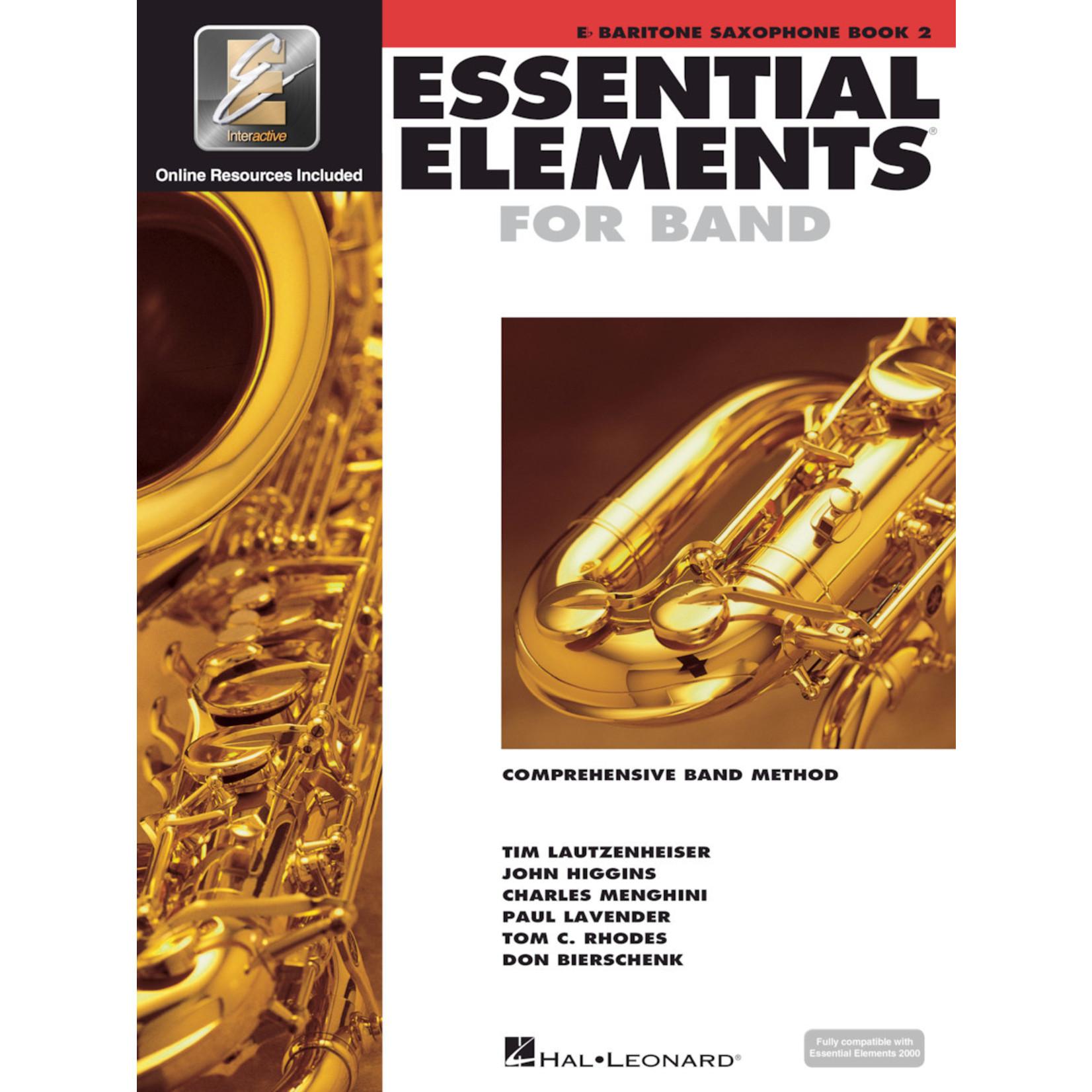 Hal Leonard Essential Elements for Band Baritone Saxophone Book 2