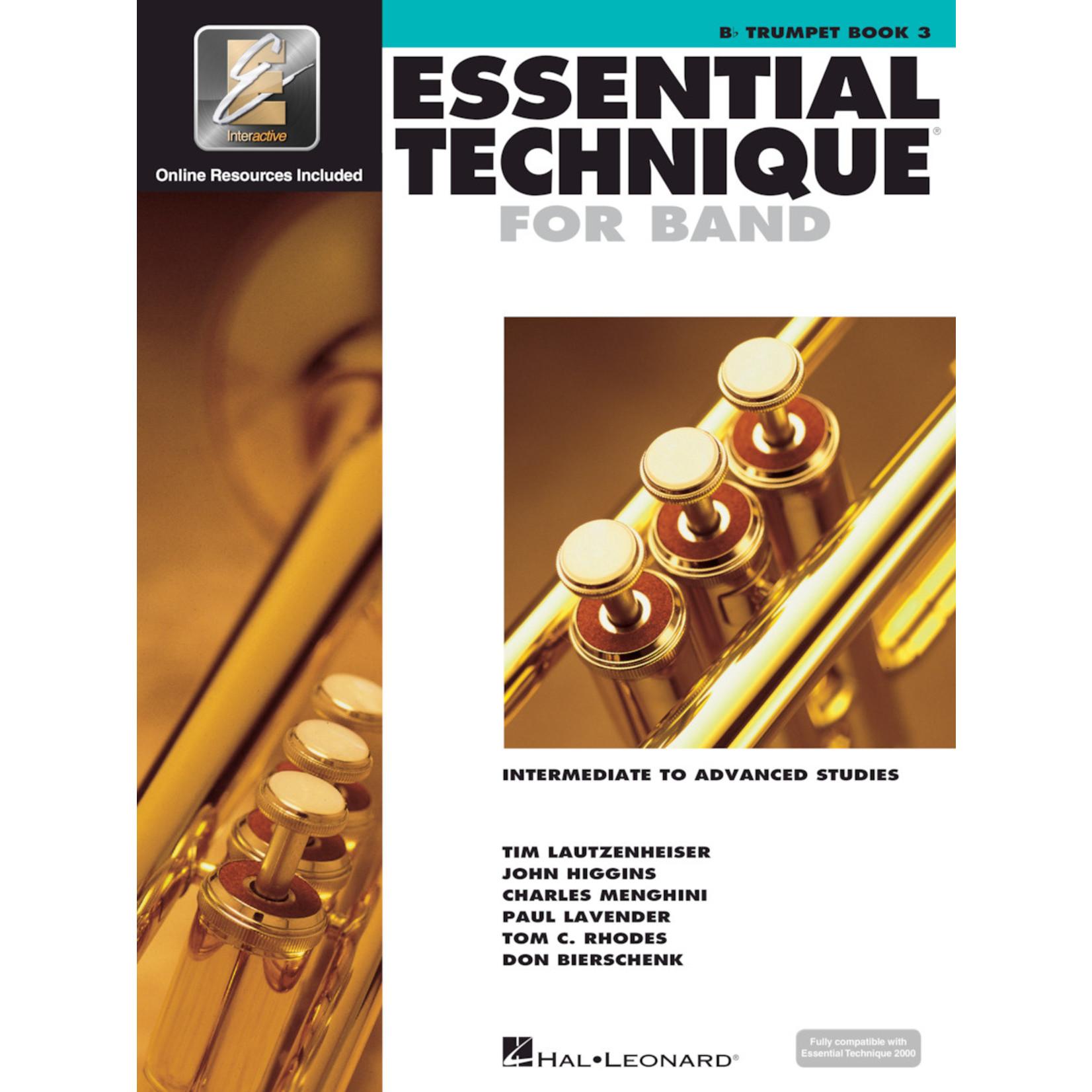 Hal Leonard Essential Technique for Band Trumpet Book 3