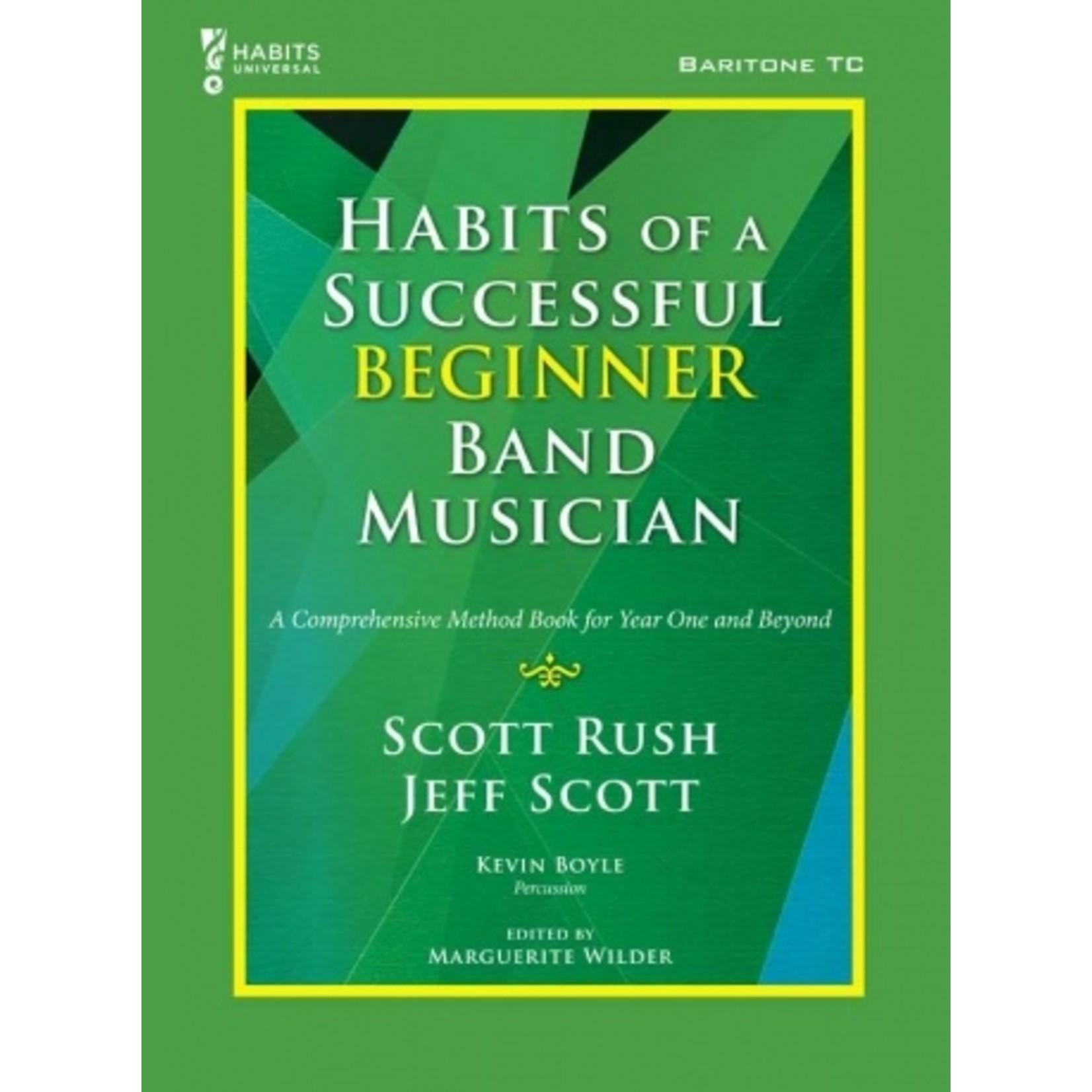 Habits of a Successful Beginner Band Musician - Baritone Treble Clef