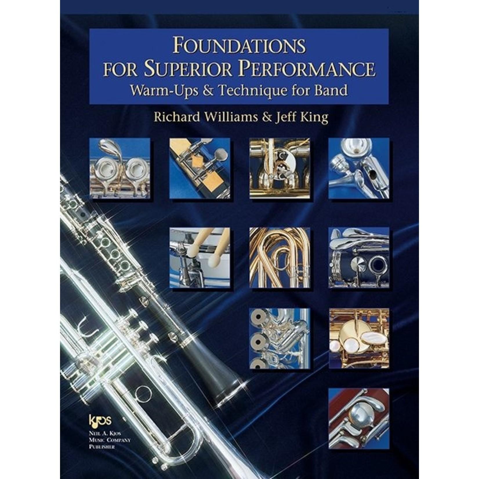 Foundations for Superior Performance Baritone Saxophone