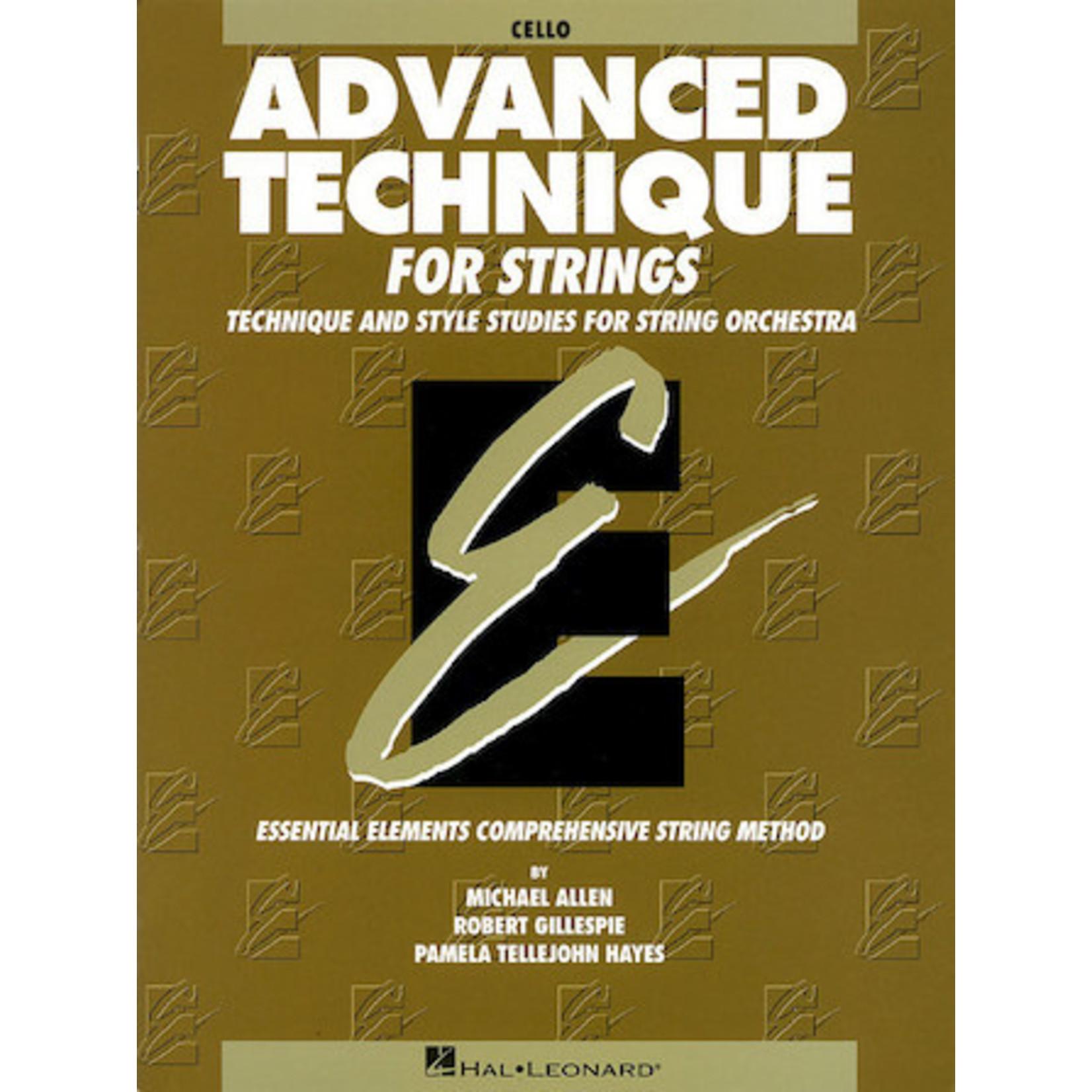 Hal Leonard Advanced Technique for Strings - Cello (Original Series)