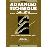 Hal Leonard Advanced Techniques for Strings - Double Bass (Original Series)