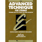Hal Leonard Advanced Technique for Strings - Viola (Original Series)