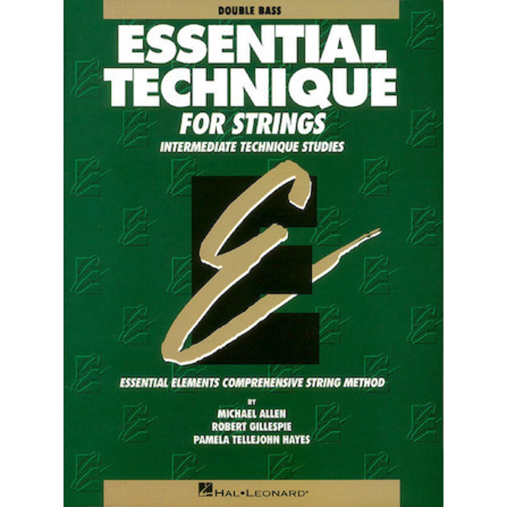 Hal Leonard Essential Technique for Strings - Double Bass (Original Series)