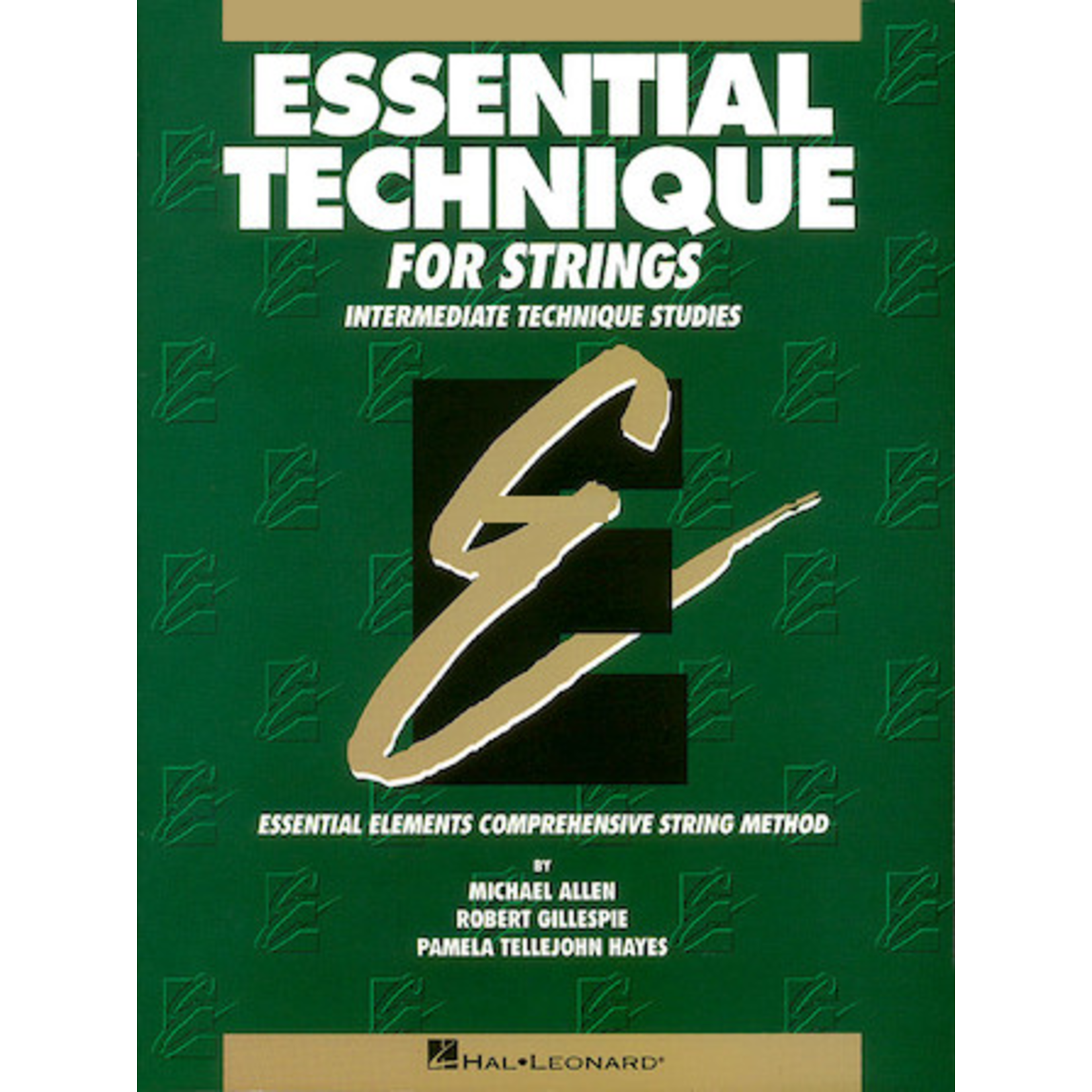 Hal Leonard Essential Technique for Strings - Cello (Original Series)