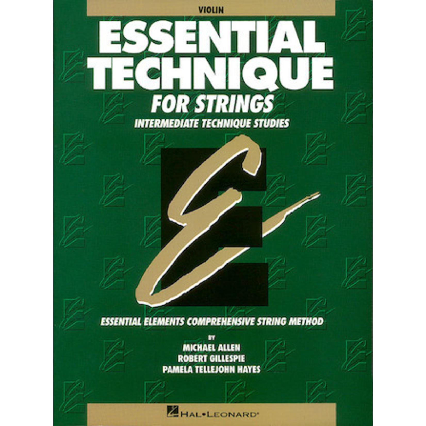 Hal Leonard Essential Technique for Strings - Violin (Original Series)
