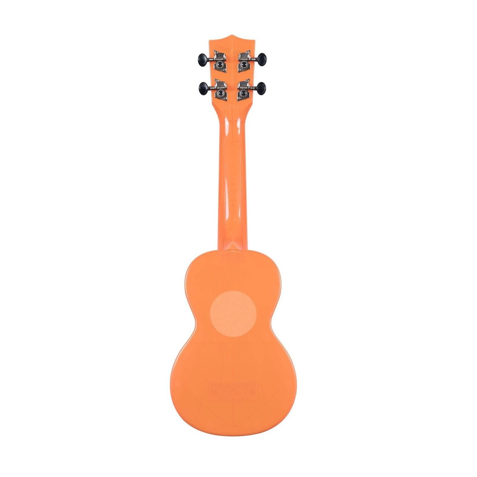 Kala Kala Waterman Fluorescent Orangesicle Soprano Ukulele