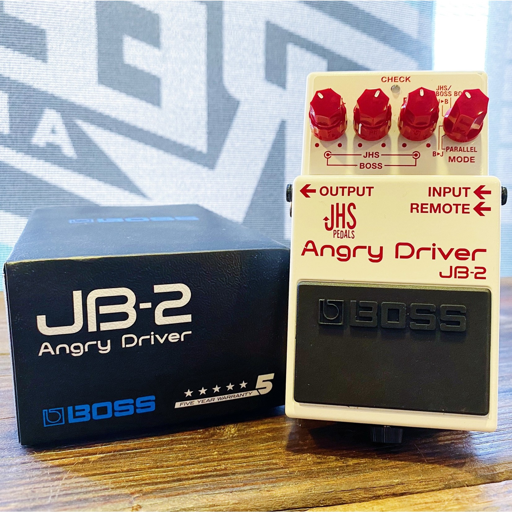 Used Gear USED Boss JB-2 Angry Driver