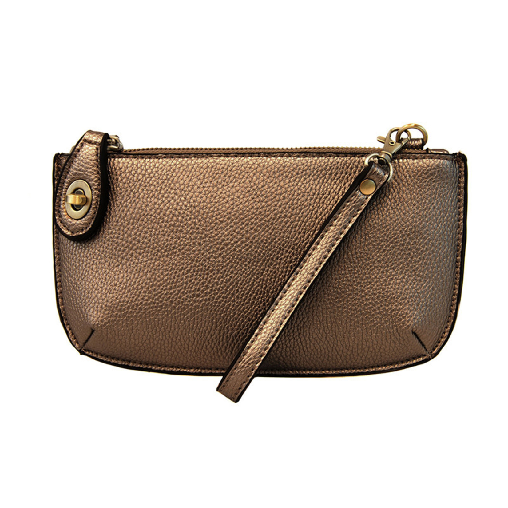 Joy Susan Metallic Bronze Mini Crossbody