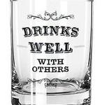 Sips Drinkware Sips Glass