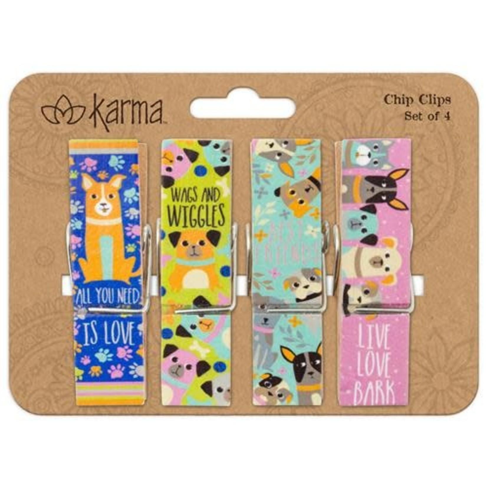 Karma CHIP CLIPS DOG (F18)
