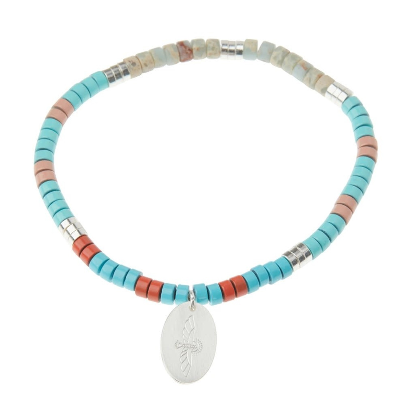 Scout Curated Wares Stone Intention Charm Bracelet