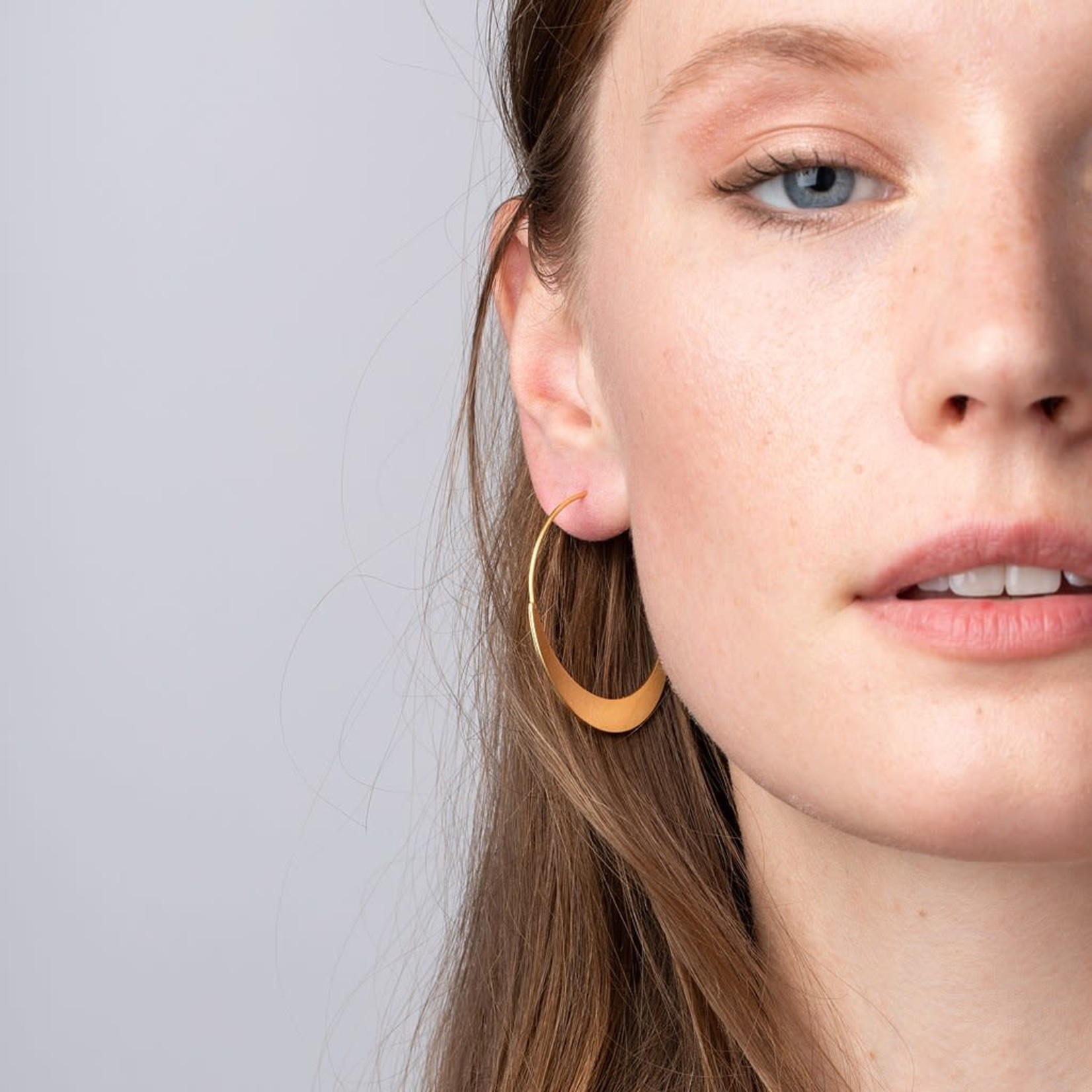 Scout Curated Wares Refined Earring Collection - Crescent