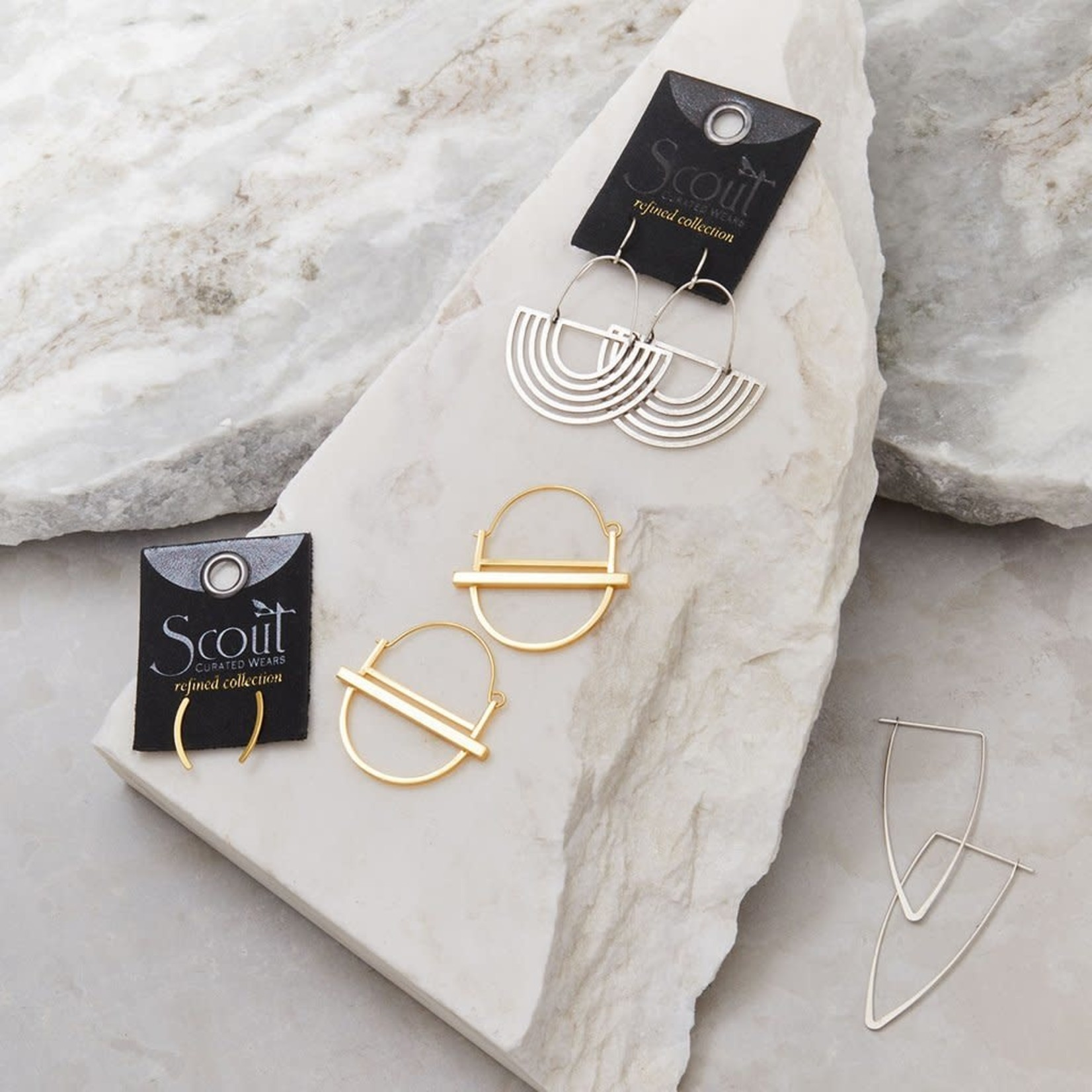 Scout Curated Wares Refined Earring Collection - Solar Rays