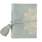 SB Designs Suede notebook - mist mandala
