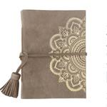 SB Designs Suede notebook- mandala