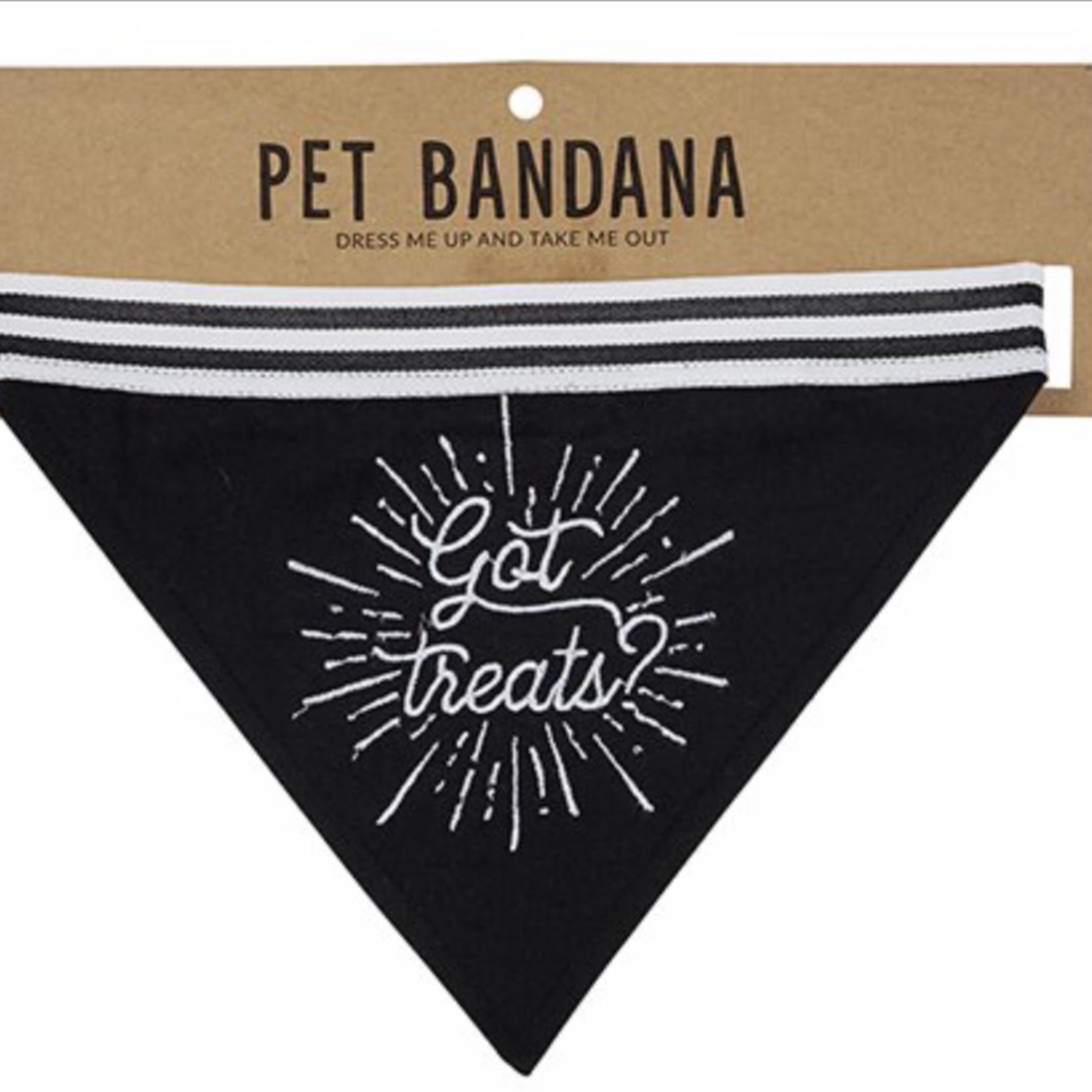 """SB Designs Pet Bandana """"Got Treats"""""""