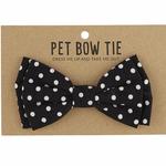 SB Designs Pet bow tie polka dot