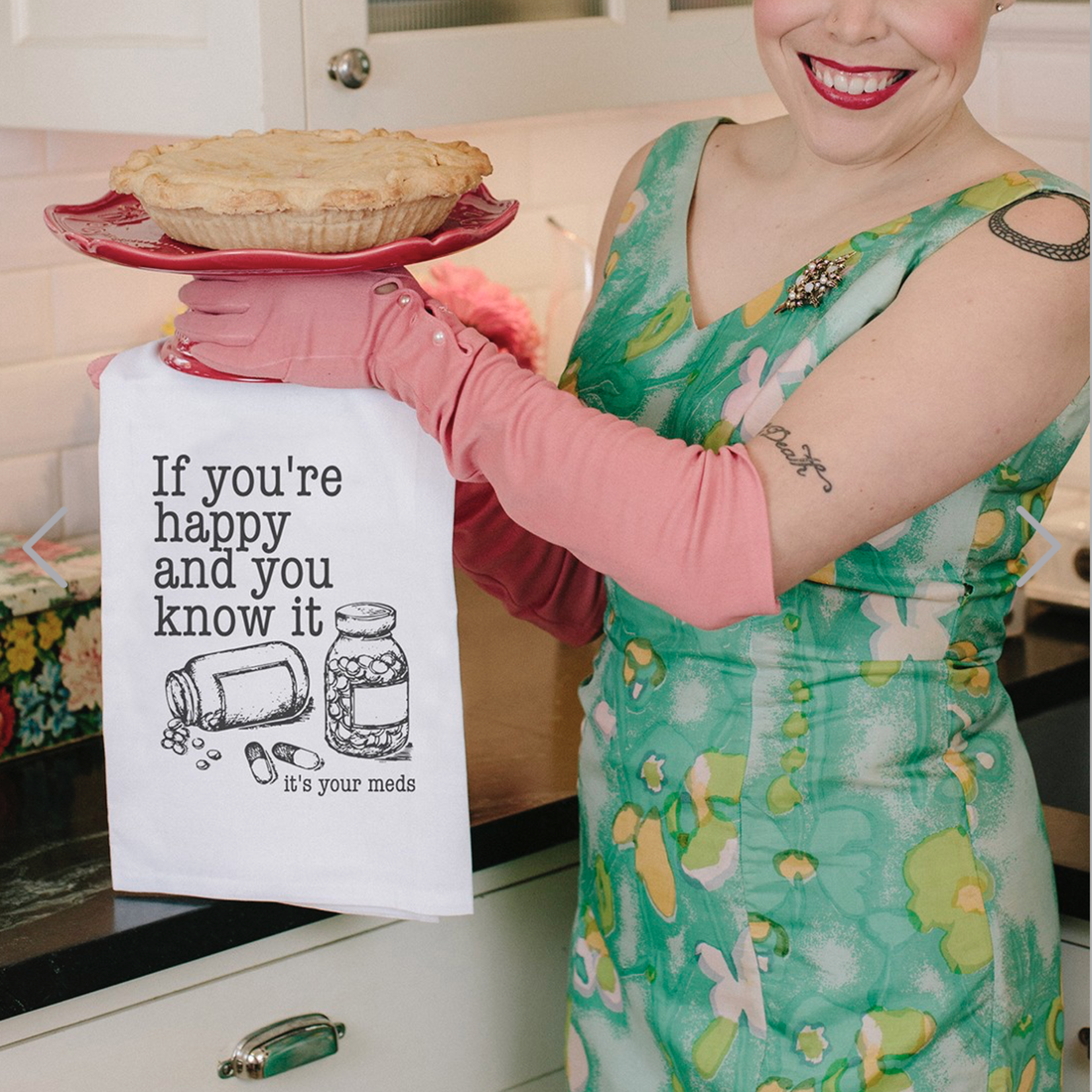 Twisted Wares Kitchen Towel