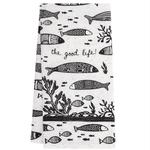 Karma Boho Tea Towel Fish