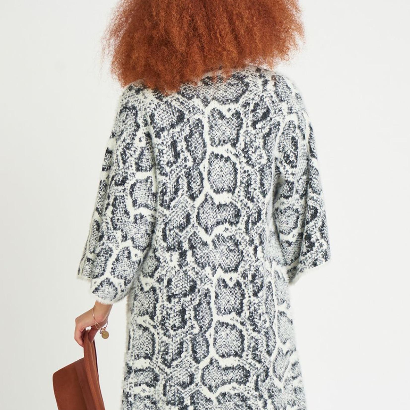 Dex Kimono Slv Animal Sweater Cardigan DEX CLOTHING