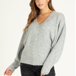 Another love Deep VNeck Dolman Sleeves Pullover