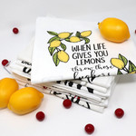 Twisted Wares When life gives you lemons towel