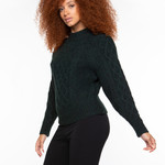 Black Tape CABLE KNIT SWEATER