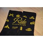 Ride Workshop Ride Workshop 'Cake Ride' Wool Sock
