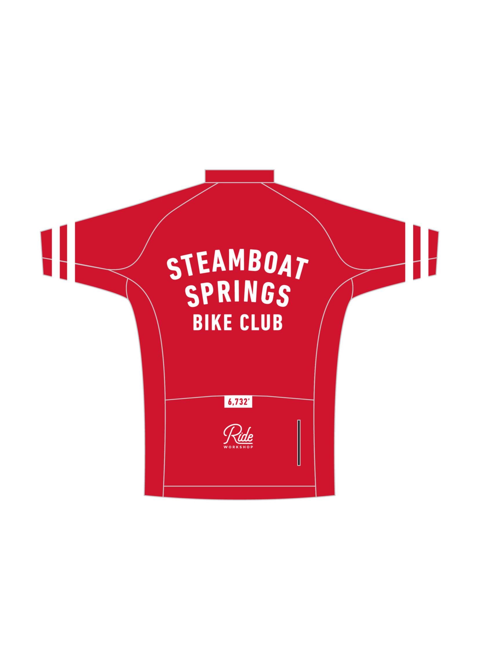 Ride Workshop Steamboat Springs Bike Club Jersey by Ride Workshop