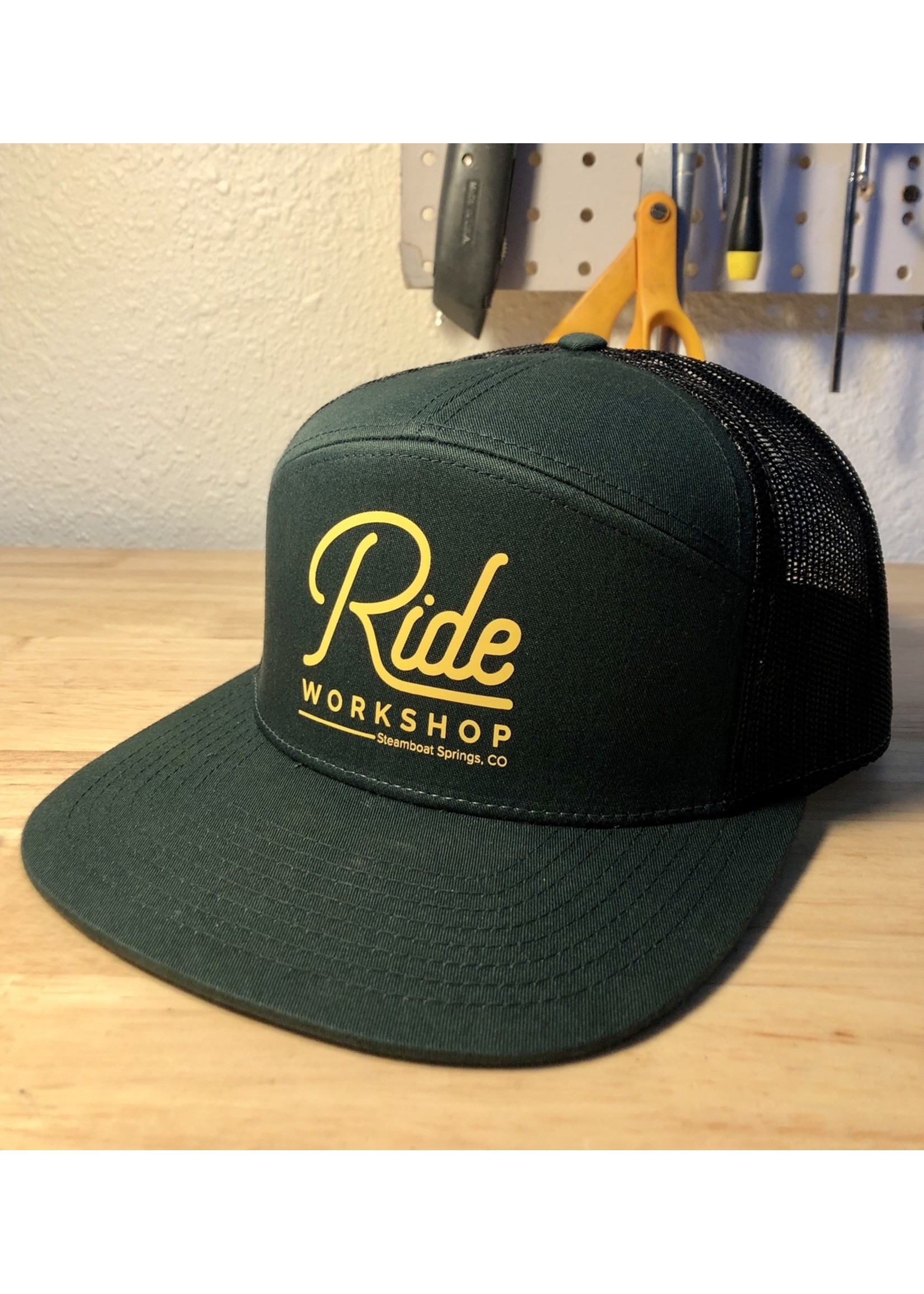 Ride Workshop 7-panel Trucker Hat