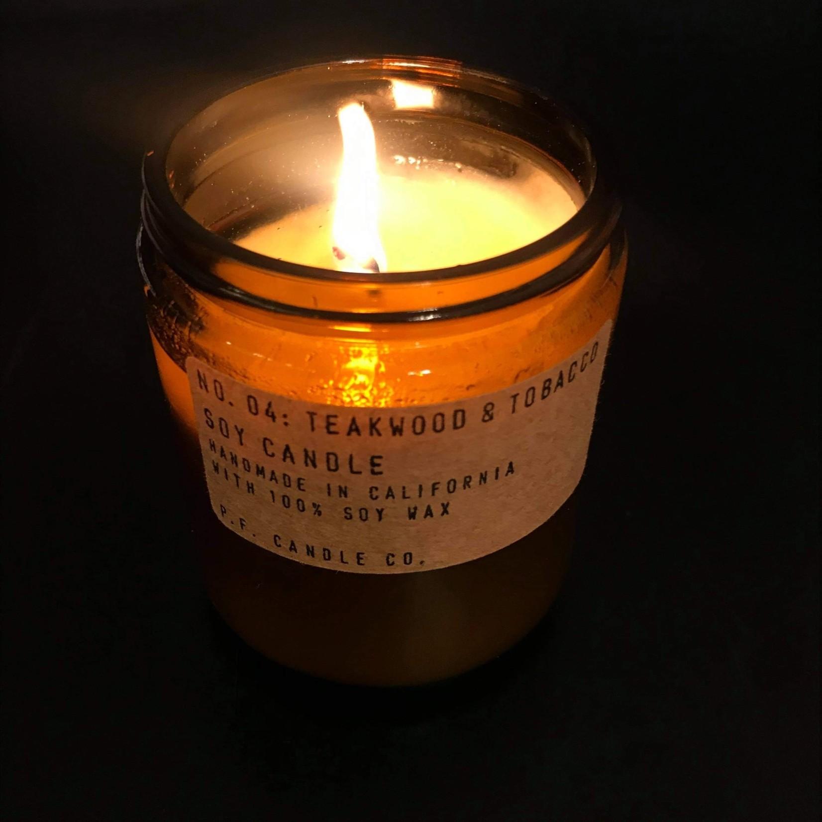 P.F. Candle P.F. Candle Co. Teakwood & Tobacco 7.2oz Candle