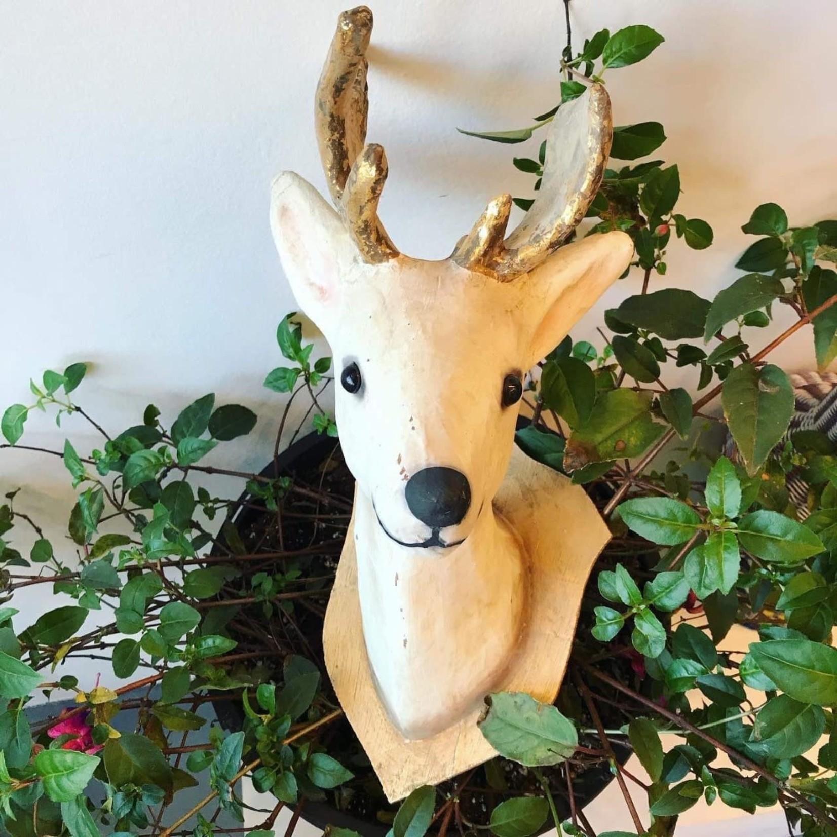 Cody Foster Wall Mount Roe Deer Gray