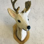 Cody Foster Wall Mount Roe Deer Gray