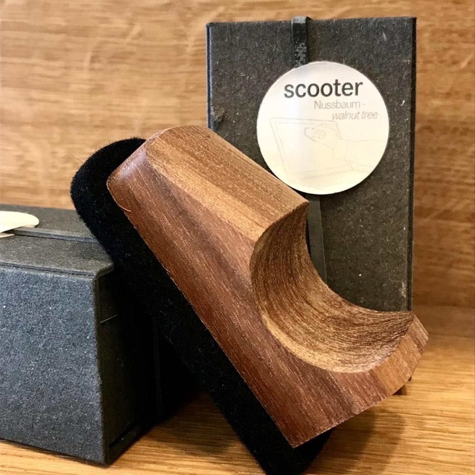 Raumgestalt Raumgestalt Screen Cleaner Scooter, Walnut Wood