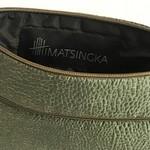 Himatsingka Himatsingka Pouch- Large- Forest Green Shimmer