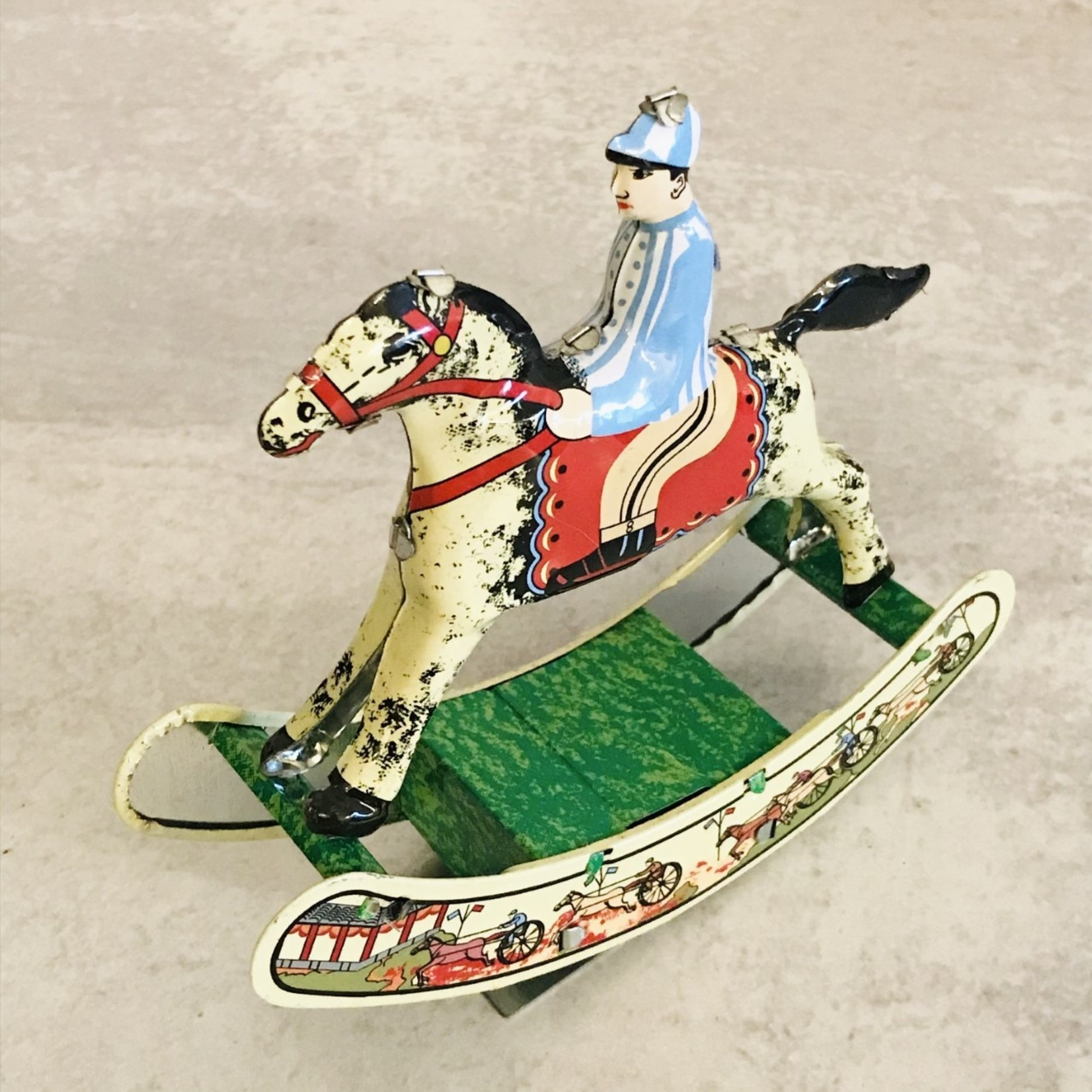 Blechfabrik Blechfabrik Rider on Rocking Horse