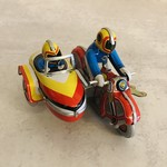 Blechfabrik Blechfabrik Motorcycle Sidecar-Small Multicolor