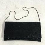 Roberts Veneto Black Crystal Clutch