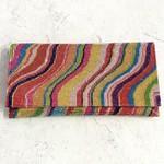 Roberts Veneto Crystal Rainbow Diagonal Clutch